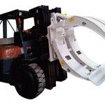 Forklift қосымшалары 360 айналмалы жалғыз қолды қағаз орамындағы қысқыштар