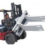Bale Clamp Forklift қосымшалары Қалдық қағазға арналған қыстырғыш