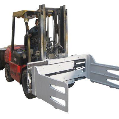 Forklift көмегімен баллонды айналдыратын жүк машинасы