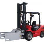 Forklift қосымшалары целлюлозды балшық қысқыштары