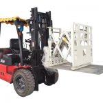 Forklift итергіш қондырғы, Forklift итергіш итергіш